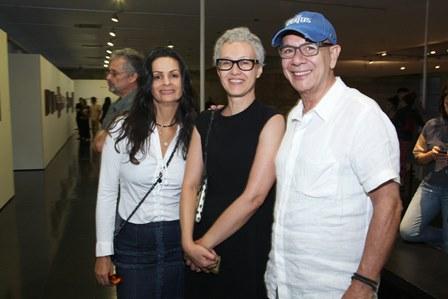 Sandra Strauss, Paola Chieregato, Caco Borges