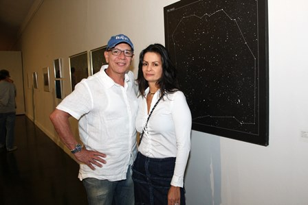 Caco Borges e Sandra Strauss