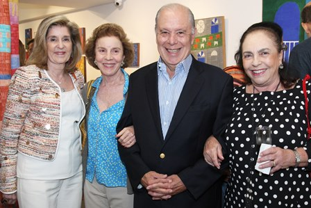 Guida Séve,Isabela Gouveia Vieira,Paulo e Mirna Bandeira de Mello