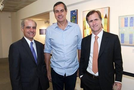 Eugenio Pacelli,Luis Sampaio e Zé Roberto Sampaio