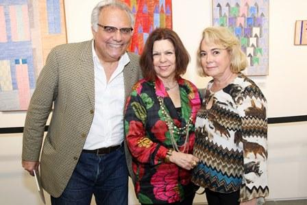 Franklin Toscano,Wanda Kalbin e Bia Costa e Silva