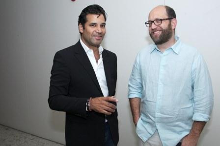 Gustavo Filgueiras e Martin Frankenberg