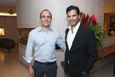 Antonio Paulo Pitanguy e Gustavo Filgueiras
