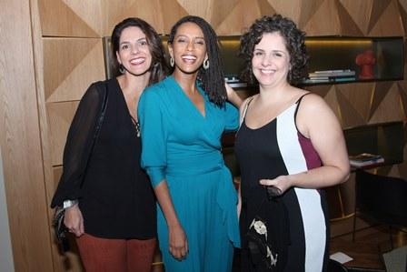 Paula Lima, Tais Araujo e Viviane Nogueira