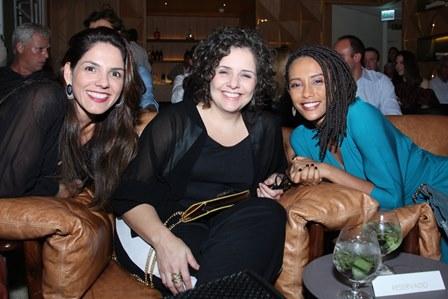 Paula Lima, Viviane Nogueira e Tais Araujo