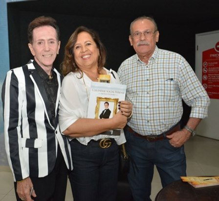 Ailton Pitombo, Linda Cortes e Juarez Cortes