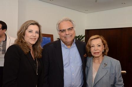 Ana Botafogo, Bayard Boiteux e Alexandre Murucci