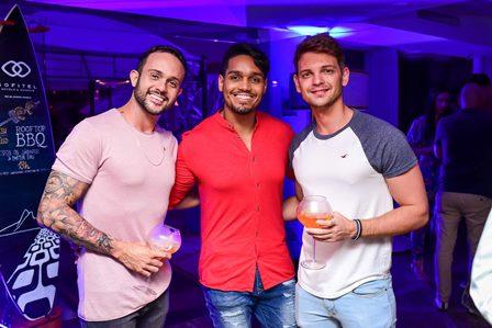 Clei Gonçalves, Jonatan Oliveira e Marc Stronez