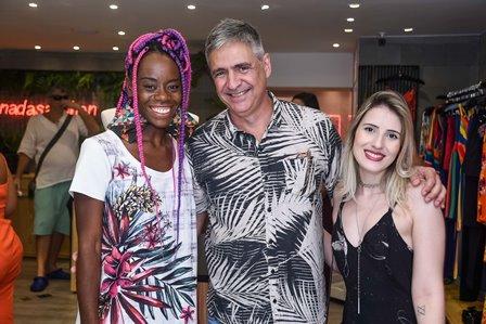 Carmen Silva Toni Oliveira e Leticia Boechat