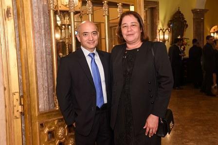 Claudio Augusto Ripper e Gloria Cunha