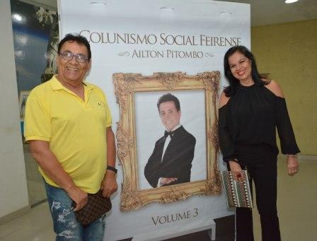 Colunista Cida Daltro e Rosa Adelia de Carvalho Silva