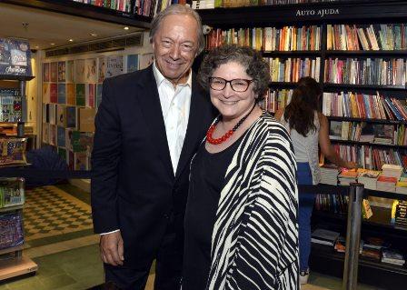 Pedro Malan e Cora Ronai