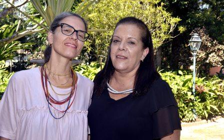 Flavia Tenório  e Silvia Balady