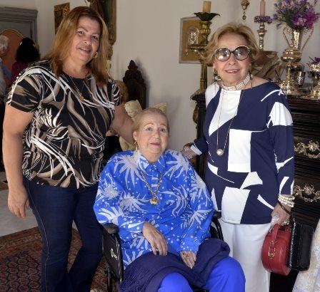 Vera Silva , Odaléa Brando Barbosa e Cecília Azevedo