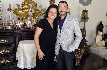 Alessandra  Jacob  e Alexandre Murucci