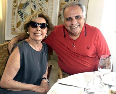 Sandra Cattan e Franklin Toscano