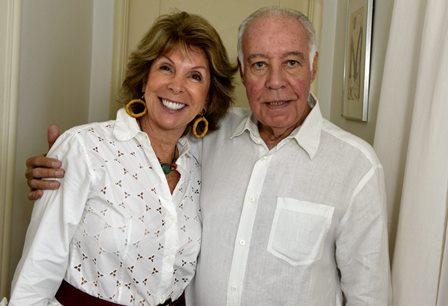 Vera Tostes e Reinaldo Paes Barreto