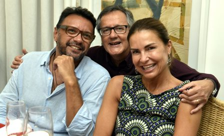 Napoleão Lacerda , PauloRoberto Direito e Christine Manhães Alimonti