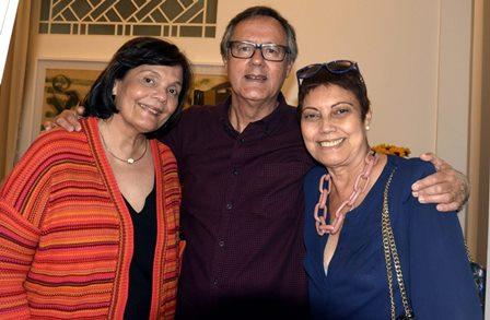 Camila Pereira , Paulo Roberto Direito e Rosaria Filgueiras