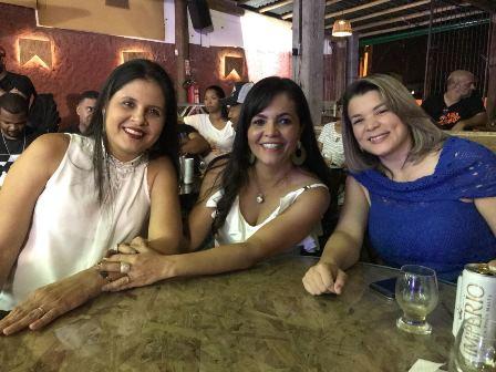Daniele Cotias, Graziele Sampaio e  Patricia da loja de Planejados Criare
