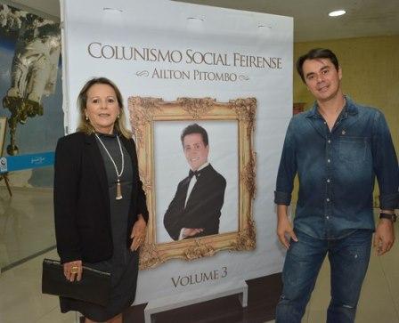 Francis Nunes e seu filho Denison Monteiro