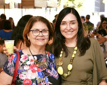 Gloria Marchesini e Cacau Dias