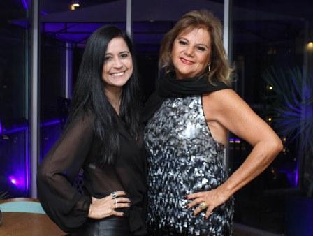 Dirce Braga e Rosana Rodrigues