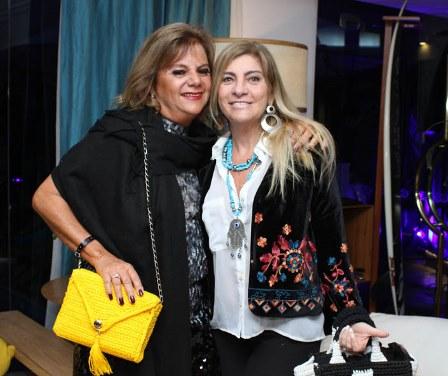 Rosana Rodrigues e Denise Lelix