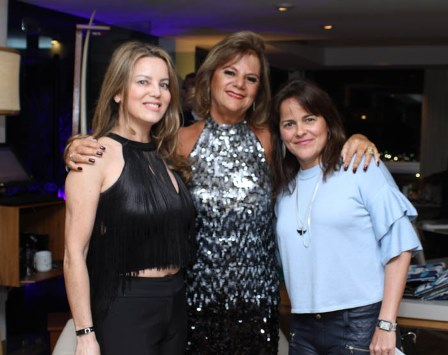 Shirley Maia, Rosana Rodrigues e Daniele Silva