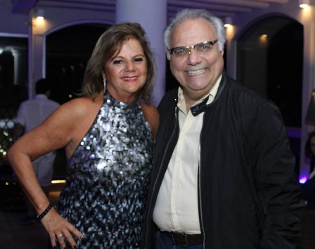 Rosana Rodrigues e Franklin Toscano