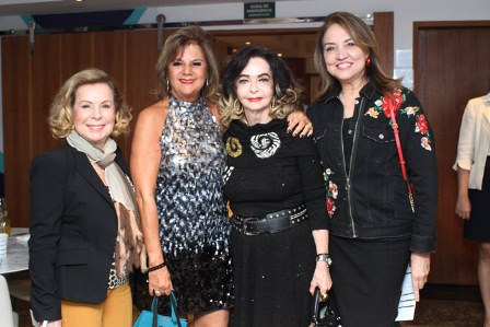 Raquel Gusmão, Rosana Rodrigues, Vera Loyola e Sumaya Neves