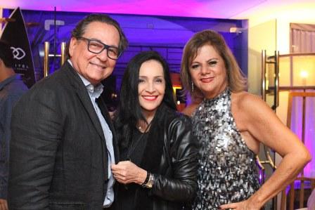 Nestor Rocha, Liliana Rodrigues e Rosana Rodrigues