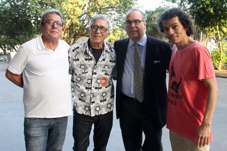 Carlo Cirenza, Neville de Almeida, Carlos Leal e Cesar Oiticica
