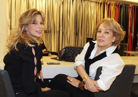 Aline Lutermann e Nina Sonsol
