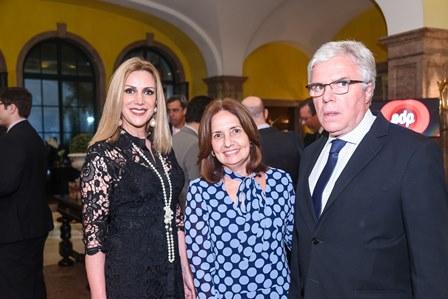 Isabela Francisco  deputada Martha Rocha e Luis Eduardo Moreira