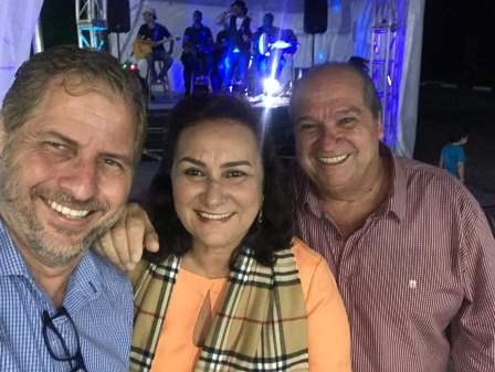 Joan Brait, Nalva Rios e Sergio Carvalho