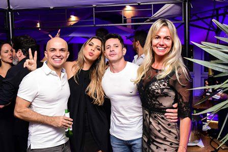 Leonardo Borges, Sabrina, Lívia e Marcello Ramalho