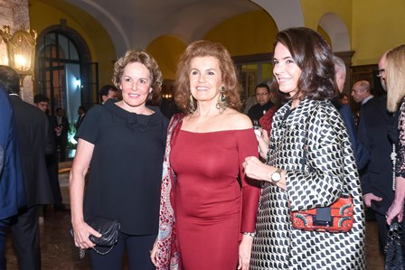Leila Teixeira Soares Embaixatriz Maria Eduarda Leitão e Laura SimoeS