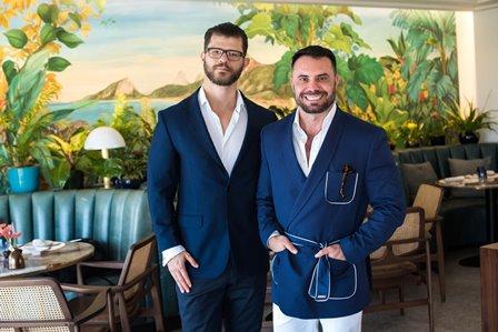 Marcel Orletti e Edu Santos.