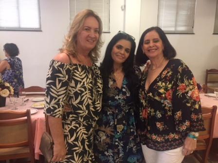 Maria La Salette Souza, Christian Lima e Diane Celi Torres