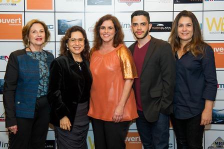 Maria Lucia Maluf, Leila B, Ana Schieck, Rodrigo Graça e Paula Paes Leme