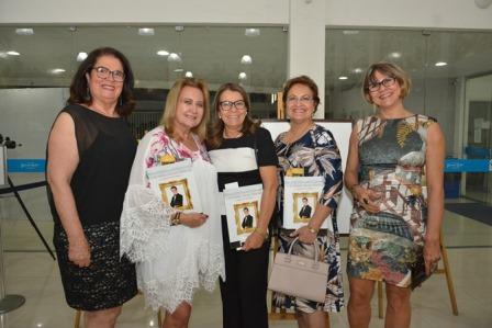 Maria José Quintela, Jaguaracema Paim, Celia Martins, Maria das Graças Pinto Cordeiro e Jussara Franco
