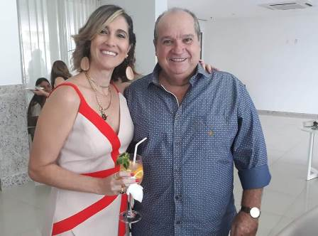 Patricia Novis e Sérgio Carvalho