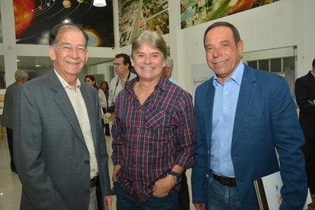 Reinaldo Portugal, Edval Nogueira Nascimento e Guto Pimenta Silva