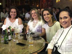 Silvia Batista, Areluzia Lemos, Lilian e Cristiane Fernandes