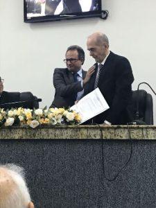 Superintendentre de Transito Mauricio Carvalho e Ivan Kruschewsky