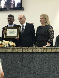 Vereador Luis Augusto de Jesus, Ivan e Cidinha Kruschewsky