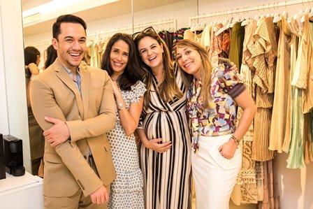 Vinicius Belo, Paula Severiano Ribeiro, Kika Cavalcanti, Ariana Sabatier