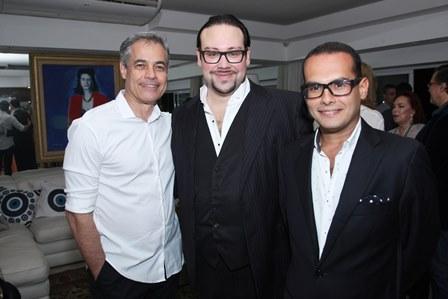 DJ Capelli, Diego Cosac e Pedro Henrique de Souza
