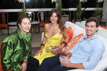 Catharina Tamborindeguy, Alix Duvernoy e Luiz Felipe Pereira da Silva